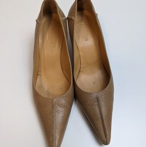 MaxMara Leather Point Shoes Womens US 9